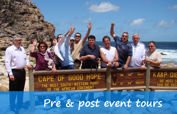 Pre and pose event tours